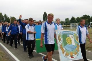 Команда спортсменів із Білокуракинського району Луганської області