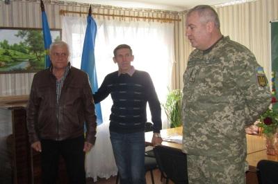 Сергій Сірик, Анатолій Кривуля, Едуард Кострицький. Білокуракине, 2018