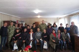 Проводи призовників в Білокуракине, 2018 рік