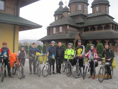 Велоклуб Караван (Білокуракине) на західній Україні, 2018 рік